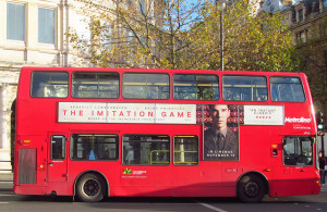 The Imitation Game was a hit among critiques and movie goers in 2014 (Photo credit: David Holt. Flickr).