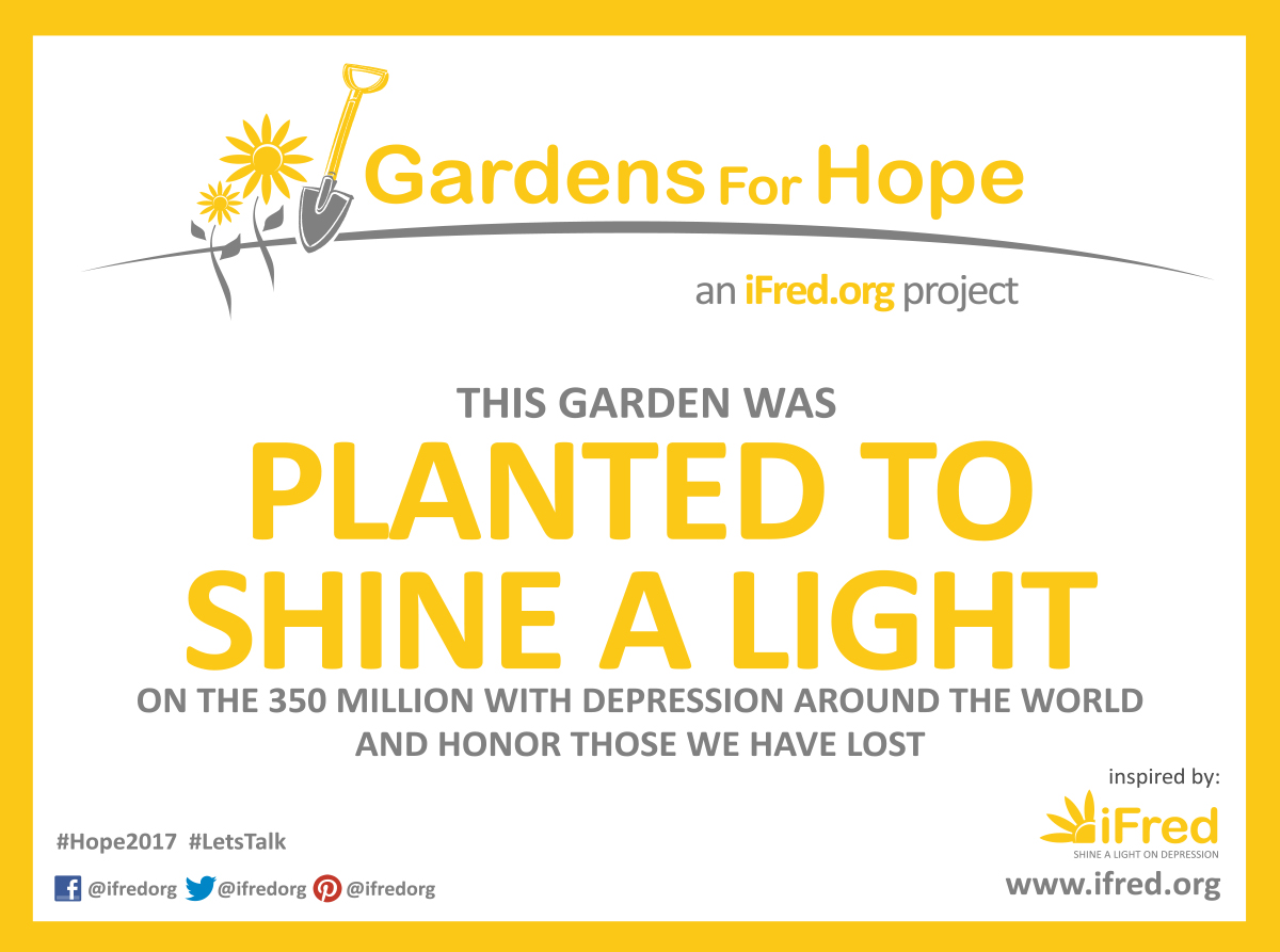 Global day for hope ifred gardens for hope sign biocorpaavc Gallery