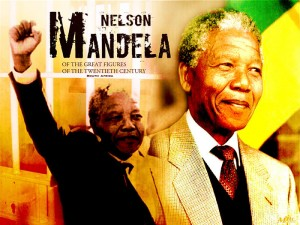 Nelson Mandela - of the great figures of the twentieth century