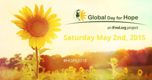 Sunflower Global Day for Hope Saturday May 2nd