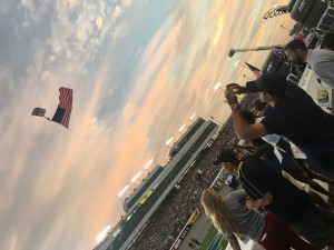 Hope For The Warriors at a recent NASCAR event.